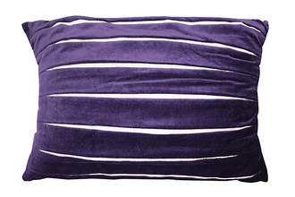 21875C Splendour Velvet/Linen - Purple