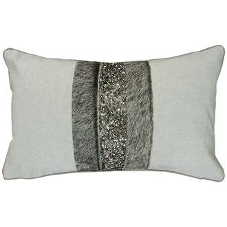 22278CAudrey - Cowhide-Metal Grey