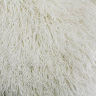 3112T Tibetan Lamb Fur - Natural White