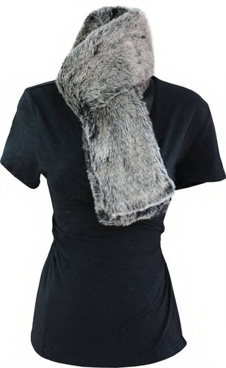 Faux Fur Scarf - Style One