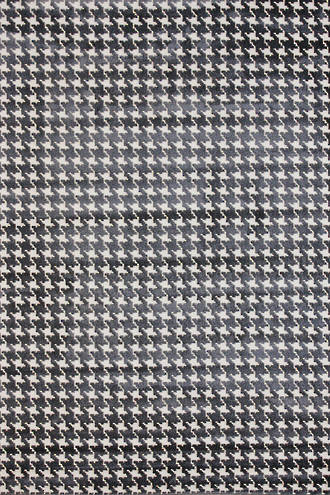 Houndstooth - Grey/Cream