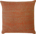 21165C Milford Moss Stitch - Orange Rust/Khaki