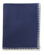 21181T Blanket Stitch - Twilight Blue/Fawn