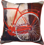 21338C Back Bike Wheel - Red Multi