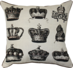 21341C Crowned Royal - Black-Natural