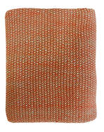 21364T Milford Moss Stitch - Orange Rust/Khaki