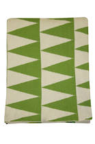 21378T Impressa Throw - Green/White
