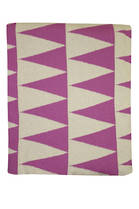 21379T Impressa Throw - Orchid/White