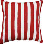 21492C Miami Stripe Embroidered - Red