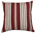21573C Classical Stripe - Red/Cream