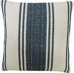 21765C French Stripe - Natural/Blue