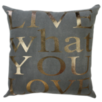 22040C Live What You Love - Copper/Charcoal