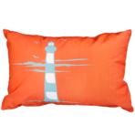 22609C Lighthouse - Orange-Light Blue