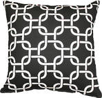 22984C Metro Linked Squares - Black/White