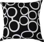 22987C Metro Linked Circles - Black/White