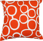 22995C Metro Linked Circles - Orange/White