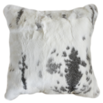 3167C | 3167FC Mottled Rabbit Fur - Silver Grey-White
