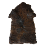 3330H Moorland Sheepskin - Long Haired Dark