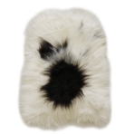 3333H Icelandic Sheepskin - Long Haired Light Spotted
