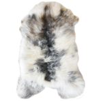 3376H Icelandic Sheepskin - Long Haired Natural Mottled