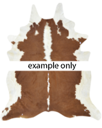 5031 Mulberi Cow Hide - Classic - Hereford Brown-White