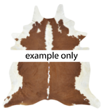 5130H Collezione Cow Hide - Campo - Brown/White