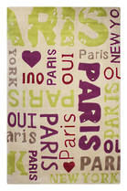 7705 Oui Paris - Lime/Purple