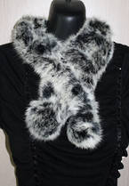 A1002 Rabbit Fur Scarf