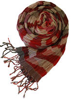 T9010 Silk Scarf - Nordic Sunset