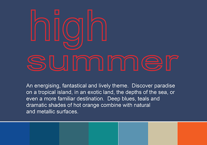 High Summer trend w colour