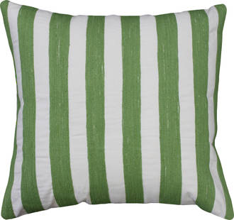21490C Miami Stripe Embroidered - Green/White
