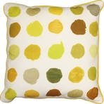 21679C Studio Painted Spots - White/Yellow
